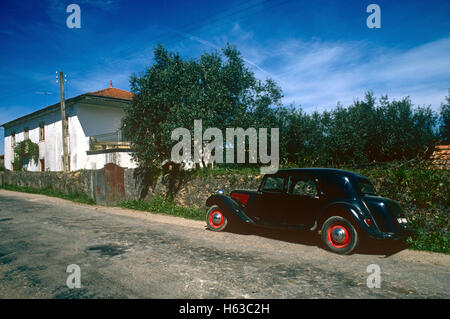 Citroen Traction Avant vintage car - Stock Photo