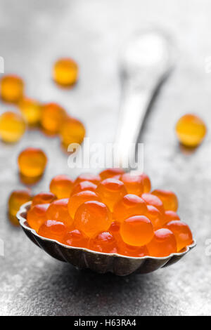 red caviar - Stock Photo