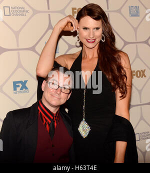 Model Amazon Eve aka Erika Ervin attends the 67th Primetime Emmy Awards Fox after party on September 20, 2015 in - Stock Photo