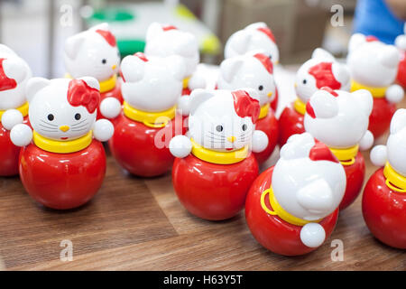 Colorful toys in the children's playroom. - Stock Photo