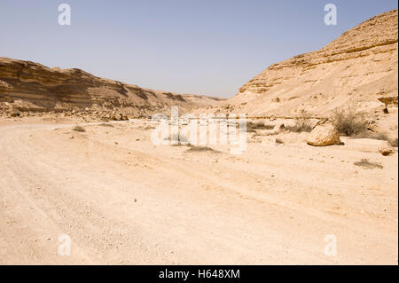 Wadi Degla, dried out Nile Valley, Egypt, Africa - Stock Photo