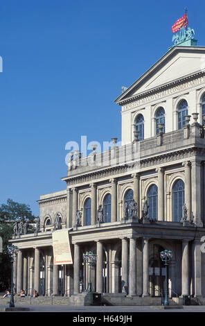 Opera House Hanover Germany Europe Old City Culture