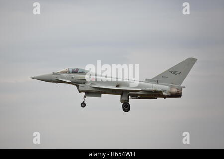 Italian Typhoon Eurofighter 36+42 at RIAT Fairford, 2014 - Stock Photo