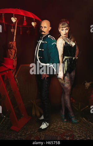Cabaret performers - Stock Photo