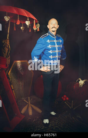 Circus performer in costume - Stock Photo