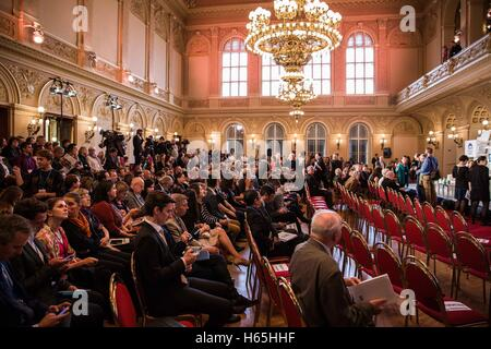 Prague, Czech Republic. 21st Oct, 2016. Dalailama is visiting Prague, Czech Republic on October 17th and 18th, 2016 - Stock Photo