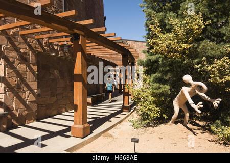 Utah, Blanding, Edge of the Cedars State Park Museum - Stock Photo