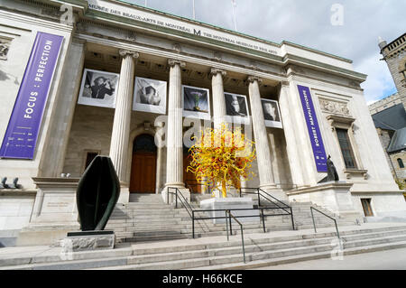 Montreal Museum of Fine Arts or Musee des Beaux-Arts, Montreal, Quebec, Canada - Stock Photo