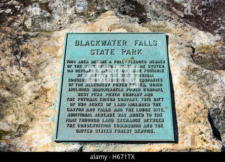 Blackwater Falls State Park - Stock Photo