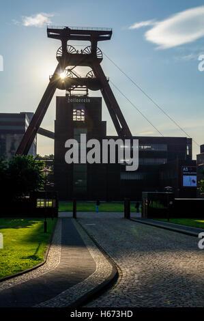 Zeche Zollverein Coal Mine UNESCO World Heritage Site in Essen, Germany - Stock Photo