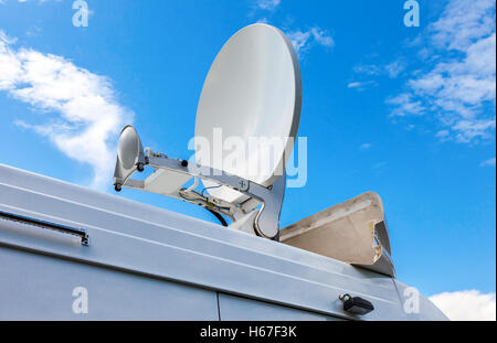 Mobile Satellite Dish Digital Media Broadcast And Data