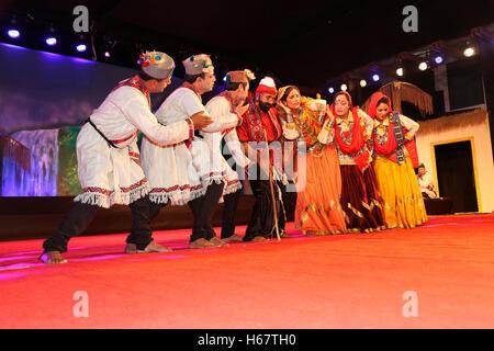 Lambada Dance, Himachal Pradesh, India - Stock Photo