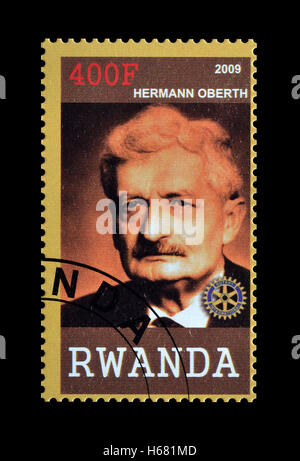 Rwanda stamp 2009 - Stock Photo