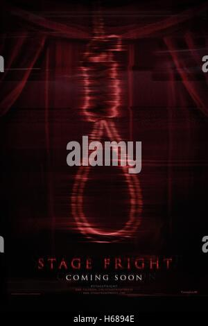HANGMAN'S NOOSE MOVIE POSTER STAGE FRIGHT (2014) - Stock Photo