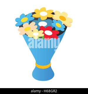 Bouquet isometric 3d icon - Stock Photo