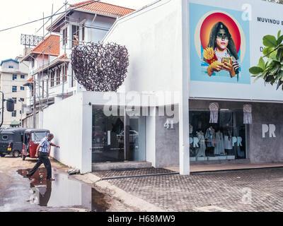 Colombo, Sri Lanka. June 10th 2016. Saskia Fernando art gallery in Colombo, Sri Lanka. - Stock Photo