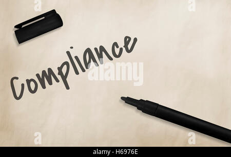 Compliance Core Development Business Concept - Stock Photo