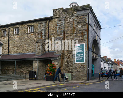 The Old Shire Hall was founded in 1764 but may not have been completed until 1797, alterations were carried out - Stock Photo
