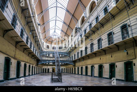 Kilmainham Gaol, Dublin, Ireland - Stock Photo
