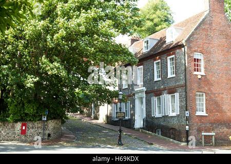 Keere Street Lewes East Sussex England - Stock Photo