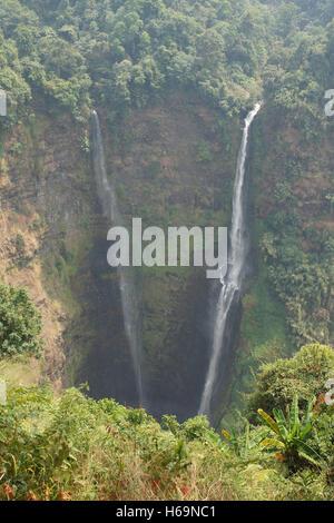 Tad Fane Waterfall, Bolaven Plateau, Laos, Asia