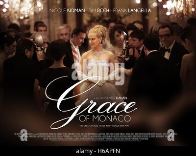 NICOLE KIDMAN POSTER GRACE OF MONACO (2014) - Stock Photo