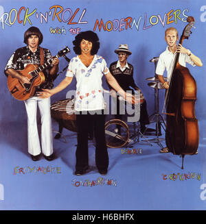 Cover of 1977 album 'Rock N Roll With The Modern Lovers' by  Jonathan Richman and the Modern Lovers - Stock Photo