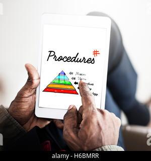 Business Process Action Plan Concept - Stock Photo