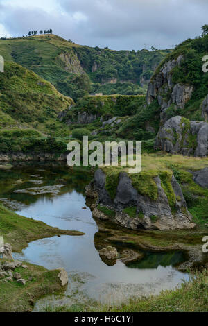 Park of La Arboleda - recreation area in Trapaga Valley near Bilbao, Vizcaya, Basque Country, Spain, Europe - Stock Photo