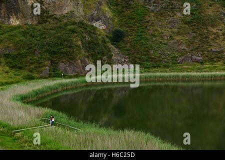 Park of La Arboleda - recreation area in Trapaga Valley near Bilbao, Vizcaya, Basque Country, Spain, Europe - Stock Photo