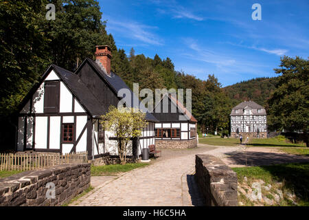 Germany, Hagen, Hagen Open-air Museum - Stock Photo