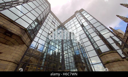 St  Andrews roman catholic rc cathedral Clyde street Glasgow - Stock Photo