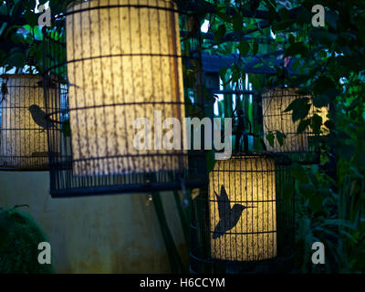Bird cage lamp shades green silhouette stock photo 124434121 alamy bird cage lamp shades green silhouette stock photo aloadofball Image collections