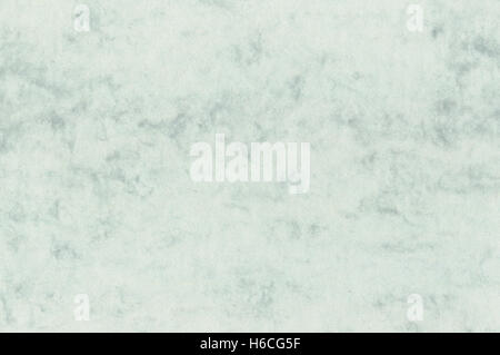 Natural decorative art letter marble paper texture, bright fine textured sea green blank empty copy space background - Stock Photo