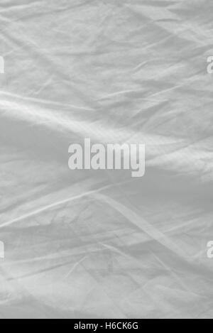 white bed sheets texture. Used Bed Sheets Texture, Clean White Crumpled Cotton Material Surface - Stock Photo Texture