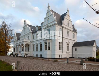 Kokkedal Castle Copenhagen a castle hotel in Kokkedal / Mikkelborg between Copenhagen and Elsinore. - Stock Photo
