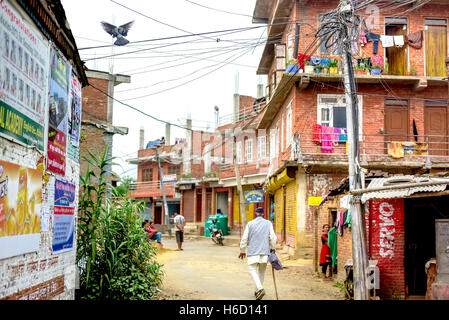 Scene of suburban area in the outskirts of Bhaktapur, Nepal. © Reynold Sumayku - Stock Photo
