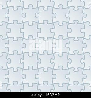 Neutral light gray seamless pattern with 3D effect. Tileable vector background. - Stock Photo