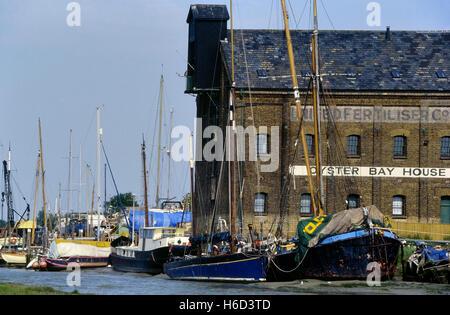 Oyster Bay House, Chambers Wharf Lane, Faversham. Kent. England. UK - Stock Photo