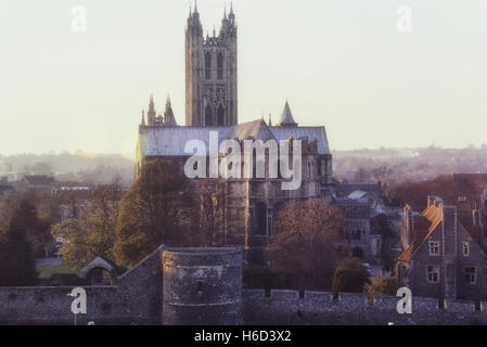 Canterbury Cathedral. Kent. England - Stock Photo