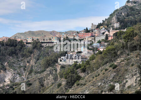 Taormina, Messina, Sicily, Italy - Stock Photo