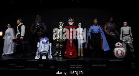 Rome, Italy. 27th October, 2016. Vittoriano. Exhibition 'Star Wars play' from a private collection  Credit:  insidefoto - Stock Photo