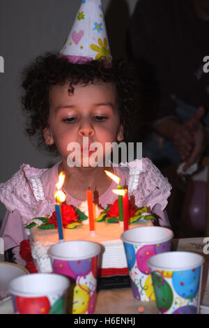 Icy Birthday Cake Candles