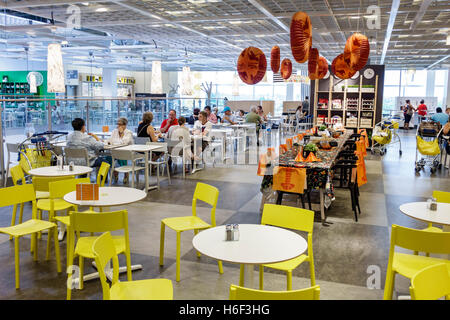 Miami Florida IKEA Home Furnishings inside display sale ...