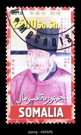 Somalia stamp 2010 - Stock Photo