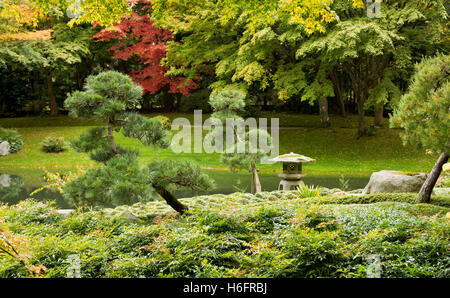 Nitobe Memorial Garden which is a traditional Japanese garden ...