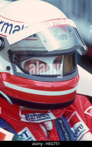 Niki Lauda 1980s - Stock Photo