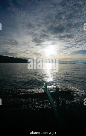 Inhabited island. Gorontalo, Sulawesi. Indonesia - Stock Photo