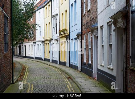 Prince Street, Kingston-on-Hull, Humberside, East Yorkshire, England UK - Stock Photo