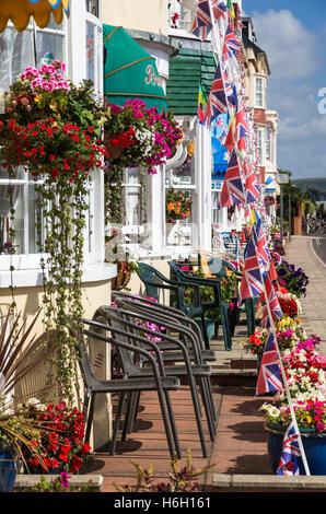 Hotels on the Weymouth Esplenade - Stock Photo